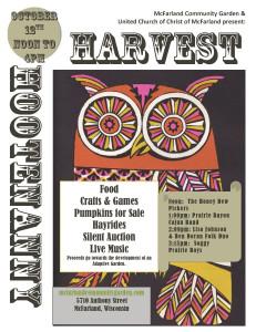 Harvest Hootenanny Owl Flyer